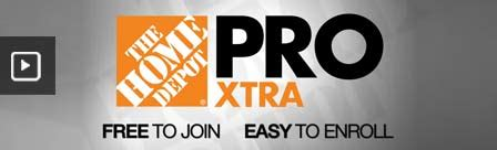professional contractor services at the home depot