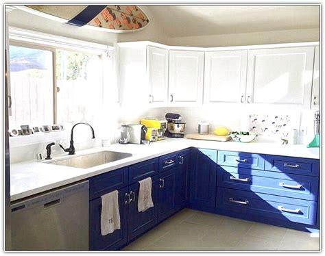 Blue kitchen cabinets pinterest home design ideas