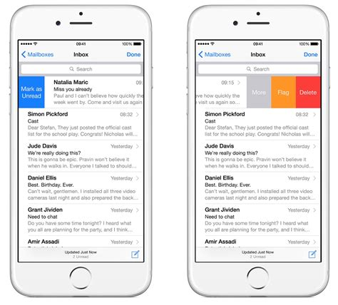email layout for iphone best iphone email app outlook or mail duke it out know