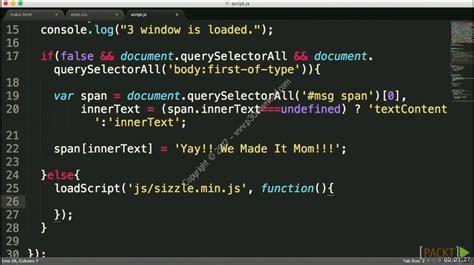 javascript tutorial intermediate level packt learning path next level javascript a2z p30