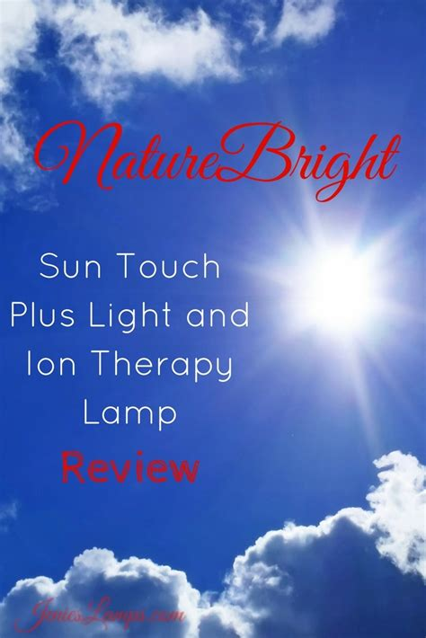 one light healing touch naturebright sun touch plus light and ion therapy l