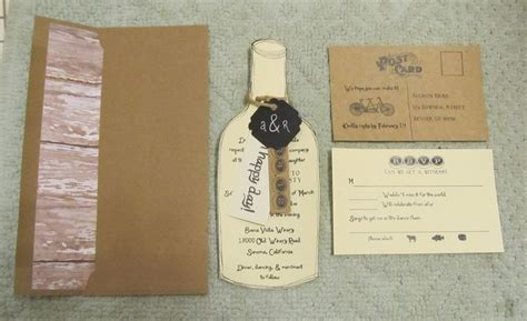 winery themed wedding invitations 1067 best images about wedding ideas on