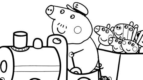 peppa pig coloring pig coloring peppa go to sleep book pages grig3 org