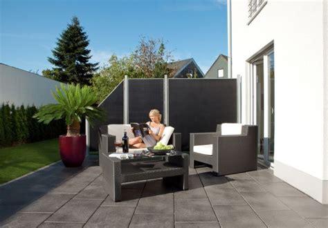 sichtschutz terrasse modern terrassen sichtschutz modern gartengestaltung sichtschutz