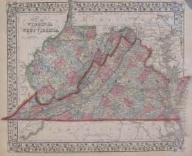 Map Of Western Virginia by Antique Maps Of West Virginia
