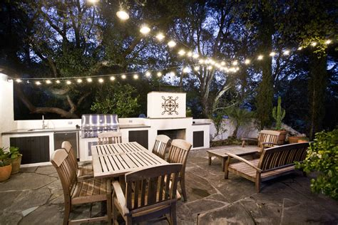 Patio Furniture Lighting Baroque Kichler Outdoor Lighting Convention Los Angeles Contemporary Patio Decoration Ideas With