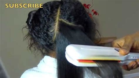 natural straighten hair without chemicals how to straighten naturally curly hair on kids w no
