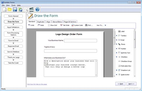 the best form builder with drag and drop design