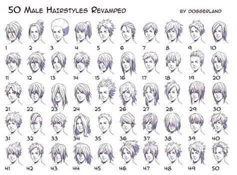 anime hairstyles side view anime hairstyles for guys side view boys drawing hair