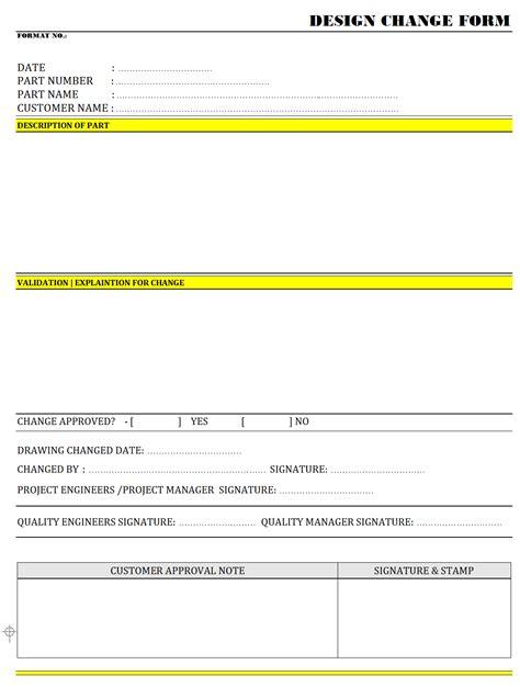 Home Designer Change Template Design Change Form Format Word Pdf Report
