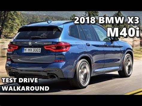 bmw x3 m 2018 bmw x3 m40i m sport