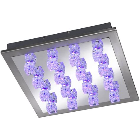 color changing led ceiling lights wofi helios colour changing 16 light led ceiling light