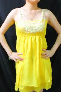 Dress Import Leemin Yellow Baju Anak Import Dress jual baju anak jual baju murah agen baju murah baju baju