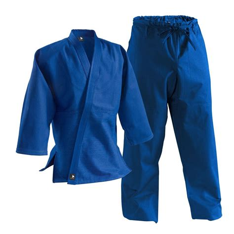 blue uniform blue student judo uniform