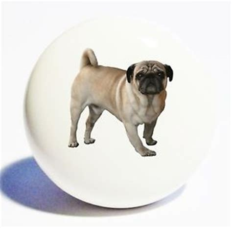 pug home decor pug home decor ceramic knob drawer cabinet pull ebay