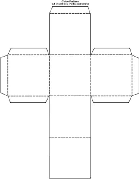 How Do You Make A 3d Cube Out Of Paper - reflections of a high school math the cube a