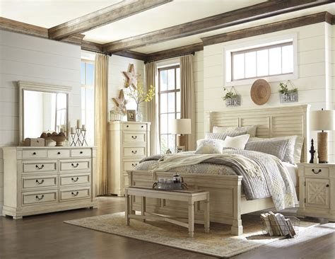 Bolanburg Bedroom Set by Bolanburg White Louvered Panel Bedroom Set From