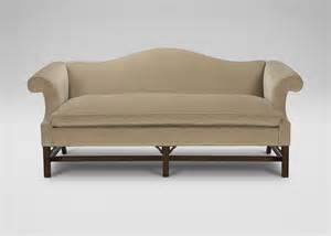chippendale sofa chippendale sofas ethan allen