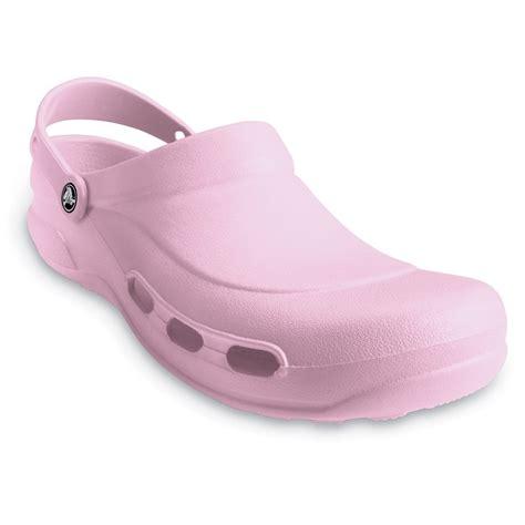 light comfortable work shoes crocs specialist clog vent bubblegum light and