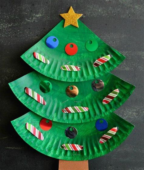 paper plate christmas art need some crafting and diy inspiration to do the check out our 10 easy
