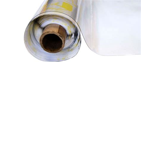 printable clear vinyl roll vinyl it 4 1 2 ft x 45 ft clear 16 mil plastic sheeting