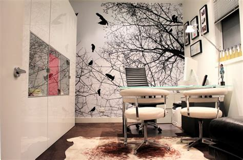 office feature wall grafico custom wall coverings