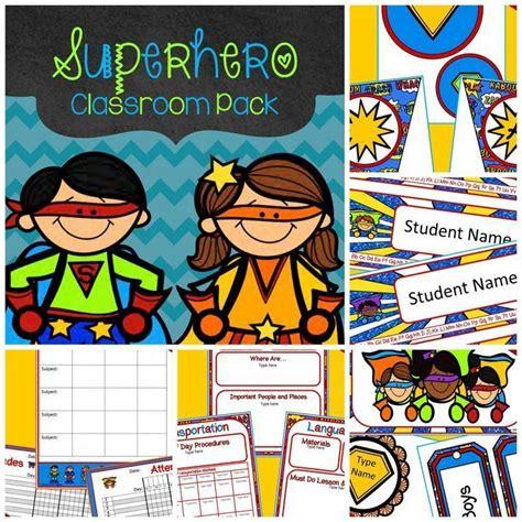 themes centered around love editable superhero theme decor 400 pages of superhero