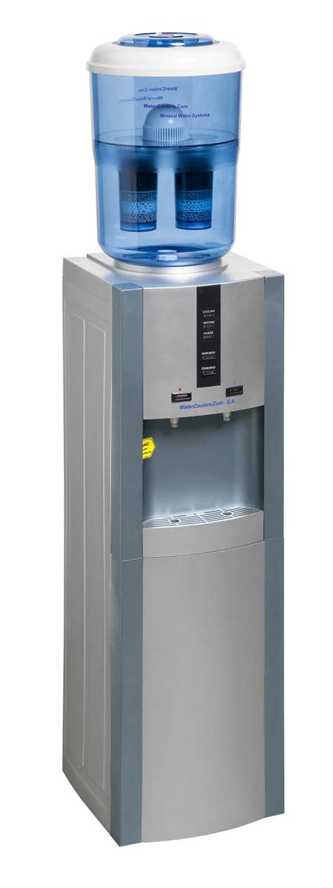 Water Dispenser Za water cooler mineral water dispenser cold silver