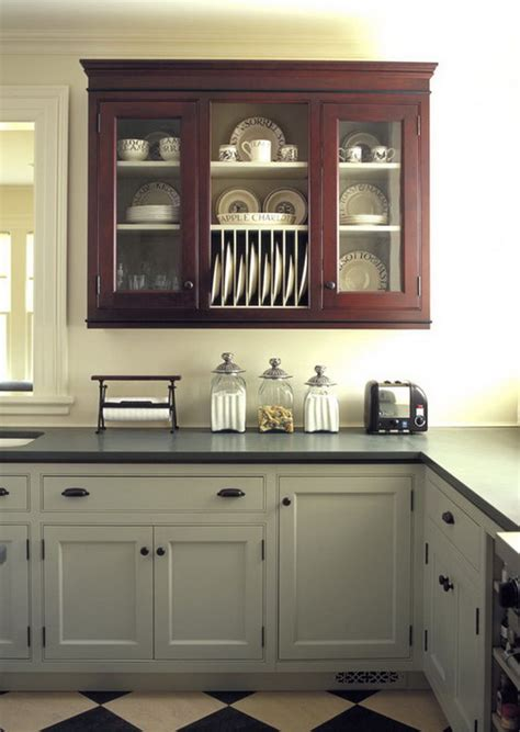 Kitchen Cabinets With Different Colored Doors | stylish two tone kitchen cabinets for your inspiration