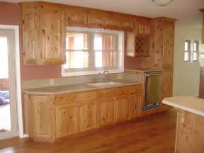Alder Wood Kitchen Cabinets by Furniture Rustic Holic Accent Kitchen With Knotty Wood
