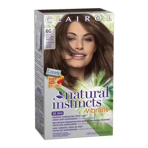 8g hair color clairol instincts vibrant permanent