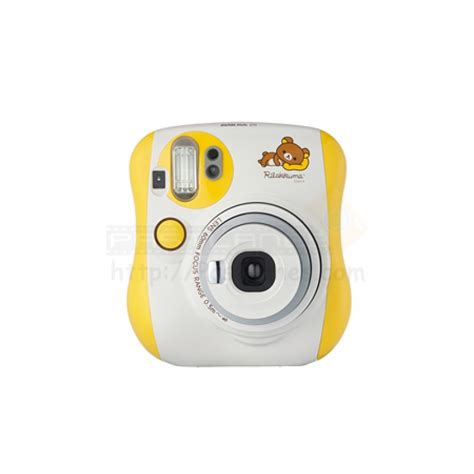 yellow polaroid fujifilm instax mini 25 polaroid rilakkuma yellow