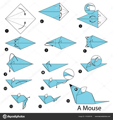 Origami Mouse Easy - origami mouse gallery craft decoration ideas