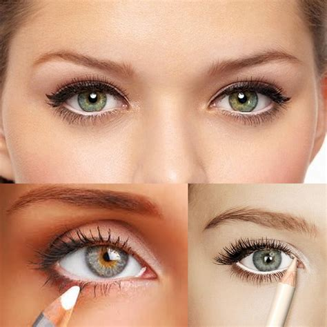 Eyeliner Make Pencil eye makeup for small make them look bigger