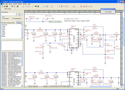 free drawing circuit diagram license lgpl electronic