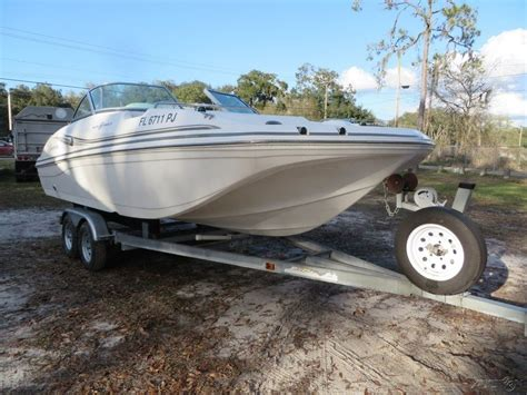deck boat yamaha hurricane sun deck 187 w 150 hp yamaha trailer 2012 for