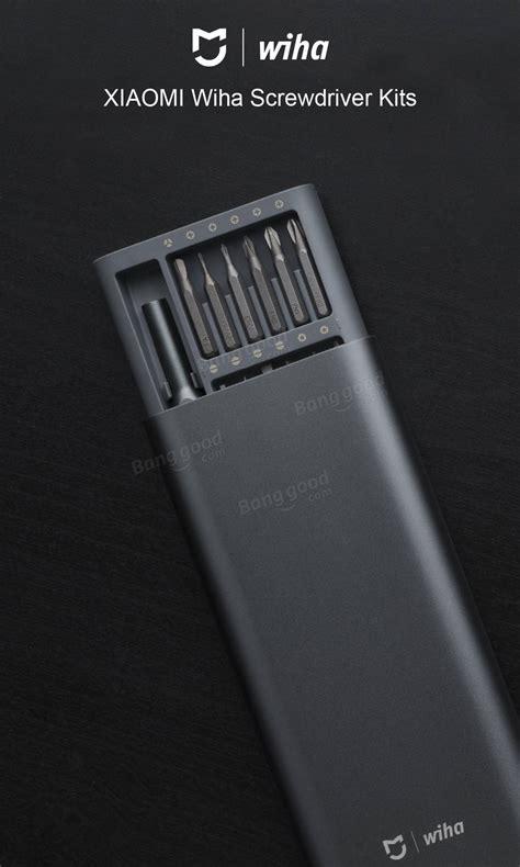 xiaomi mijia wiha 24 in 1 multi purpose precision screwdriverr set aluminium s2 steel repair