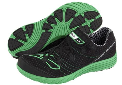 environmentally friendly running shoes product review green silence running shoe treads