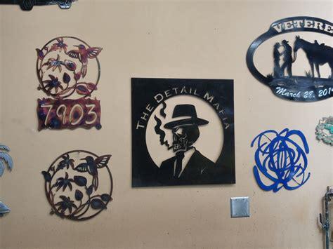 shop wall decor shop wall ignition metal design