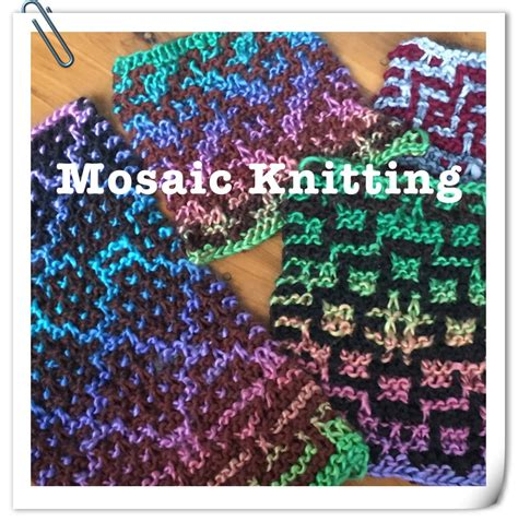 mosaic knitting mosaic knitting basics clearlyhelena