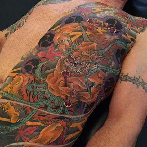 japanese tattoo healing 30 best raijin images on pinterest irezumi japan tattoo