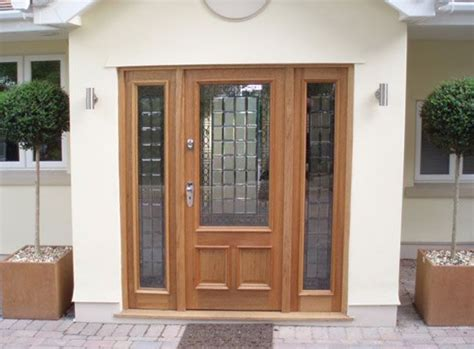 Front Door Hardwood Front Doors With Sidelights Panel Oak Doorscreedmore Sidelights Exterior Hardwood Glazed