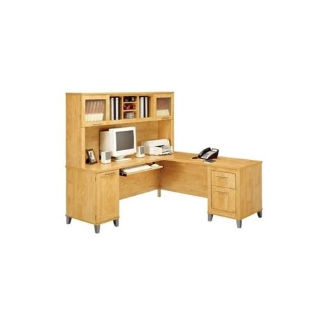 bush bennington l shaped desk somerset l shaped desk home office set wc81x10pkg