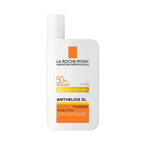 anthelios 50 mineral ultra light sunscreen fluid 1 7 fl oz la roche posay anthelios xl ultra light fluid spf 50 50ml