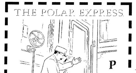 coloring pages of quot polar train express quot