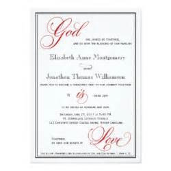 christian wedding invitations 500 christian wedding announcements invites