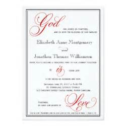 Christian Wedding Invitations, 500  Christian Wedding