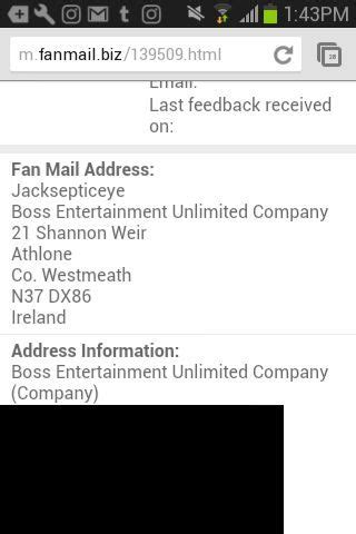 fan address what s his fan mail address jacksepticeye amino