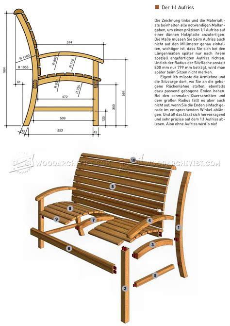 plans for garden bench seats garden seat plans woodarchivist