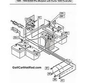 Is The Wiring Diagram For A 1989 – 1994 Pre Medalist EZGO Golf Cart